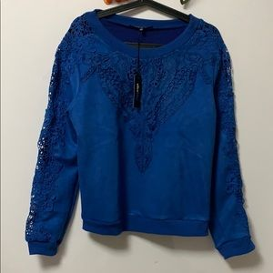 NWT ALICE BLUE FOR STITCH FIX SWEATER Size L